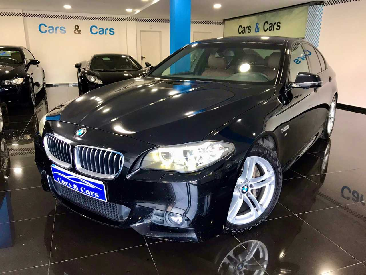 BMW Serie 5 530da paq m acepto coche    - Foto 1