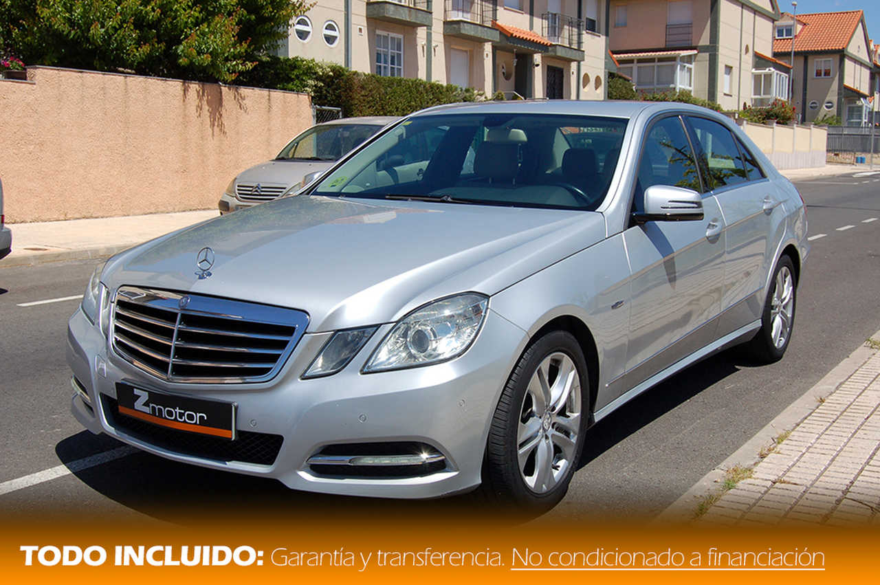Mercedes Clase E 200 Cdi BlueEFFICIENCY Avantgarde   - Foto 1
