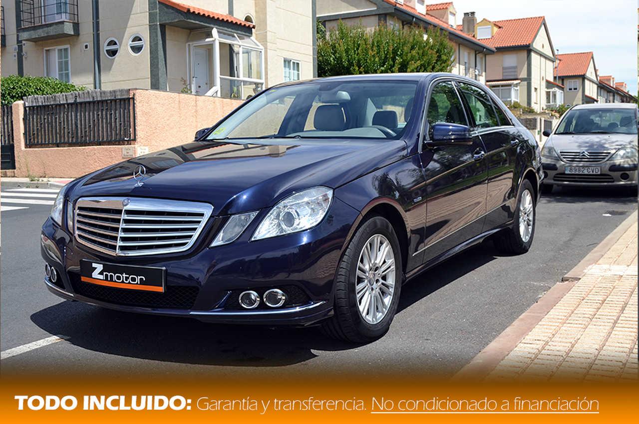 Mercedes Clase E 220 Cdi BlueEfficiency 170cv Elegance Auto   - Foto 1