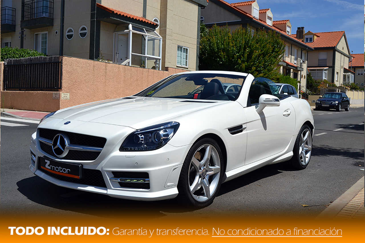 Mercedes Clase SLK 250 Cdi BE 204cv 7G-Tronic Plus AMG   - Foto 1