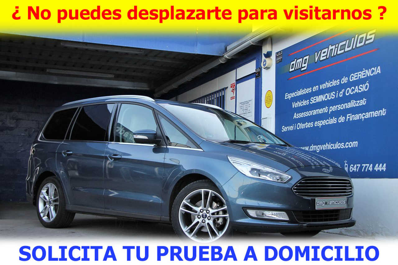 Ford Galaxy 2.0TDCi Titanium BiTurbo Auto 240Cv 7 plazas   - Foto 1