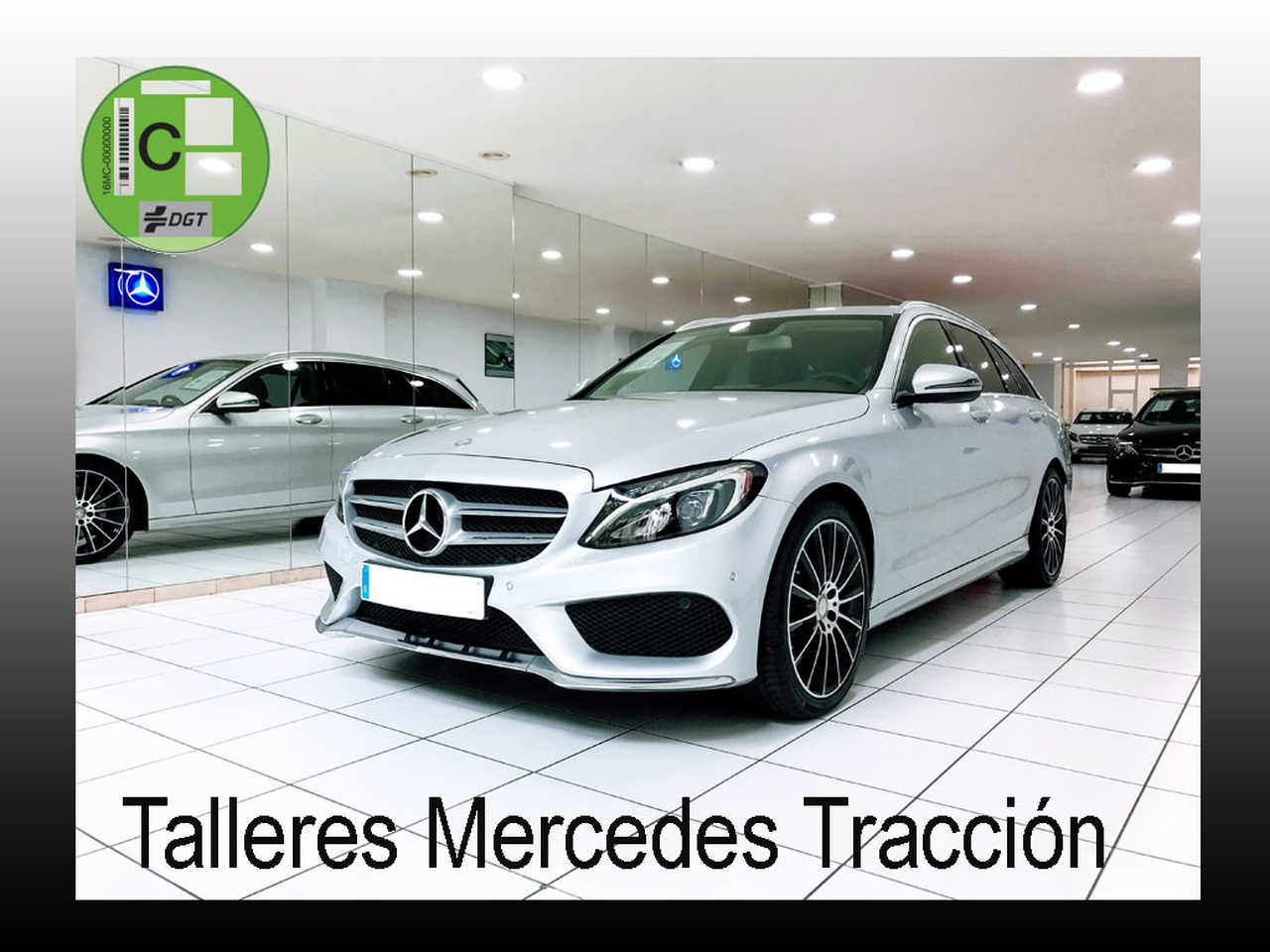 "Mercedes Clase C 220 d Estate/ 7G Plus/Comand/Llanta 19""/13.000 km   - Foto 1"