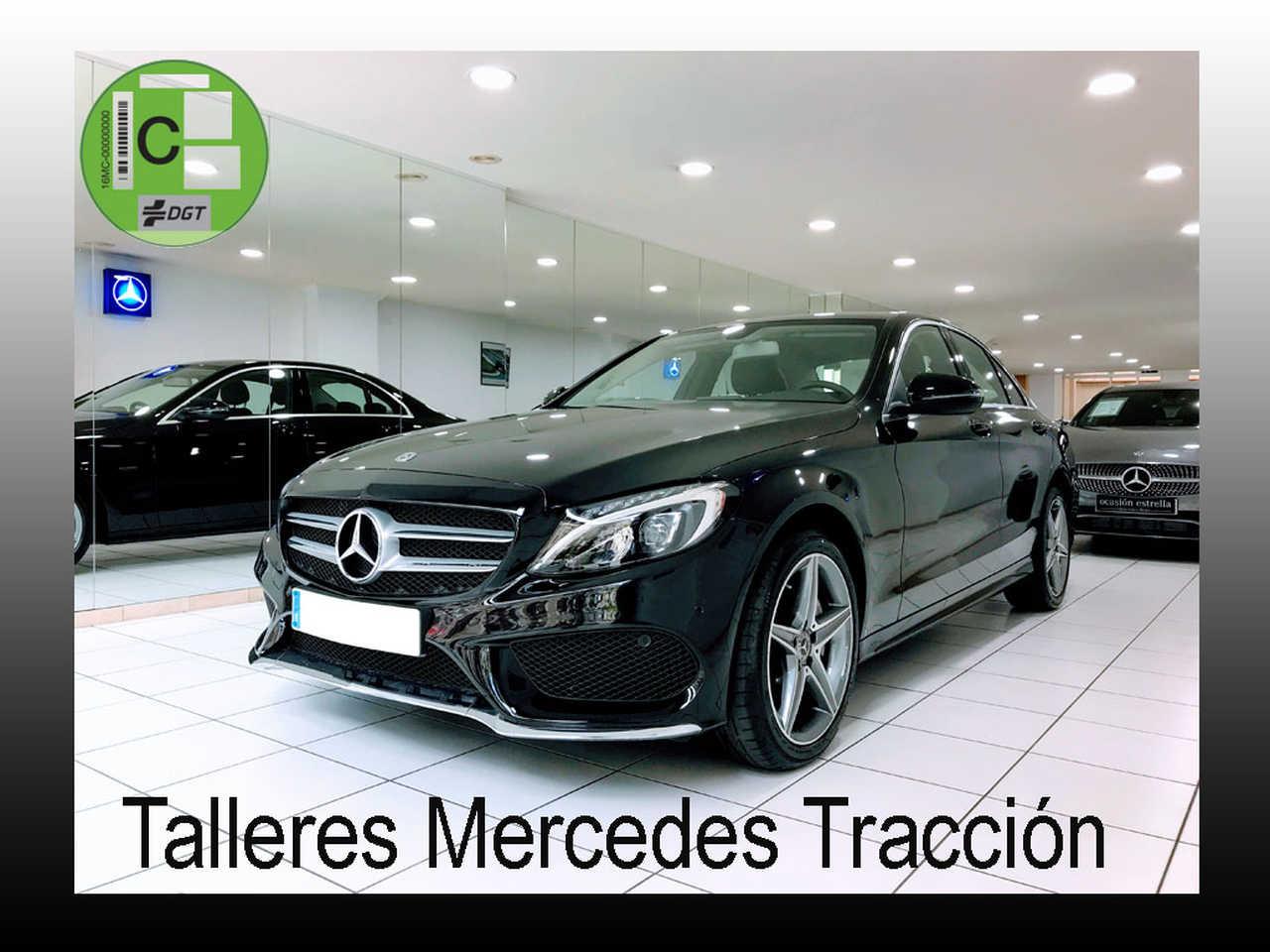 "Mercedes Clase C 220 d AMG Line 9G/Navegación/Parktronic/Llanta 18""   - Foto 1"