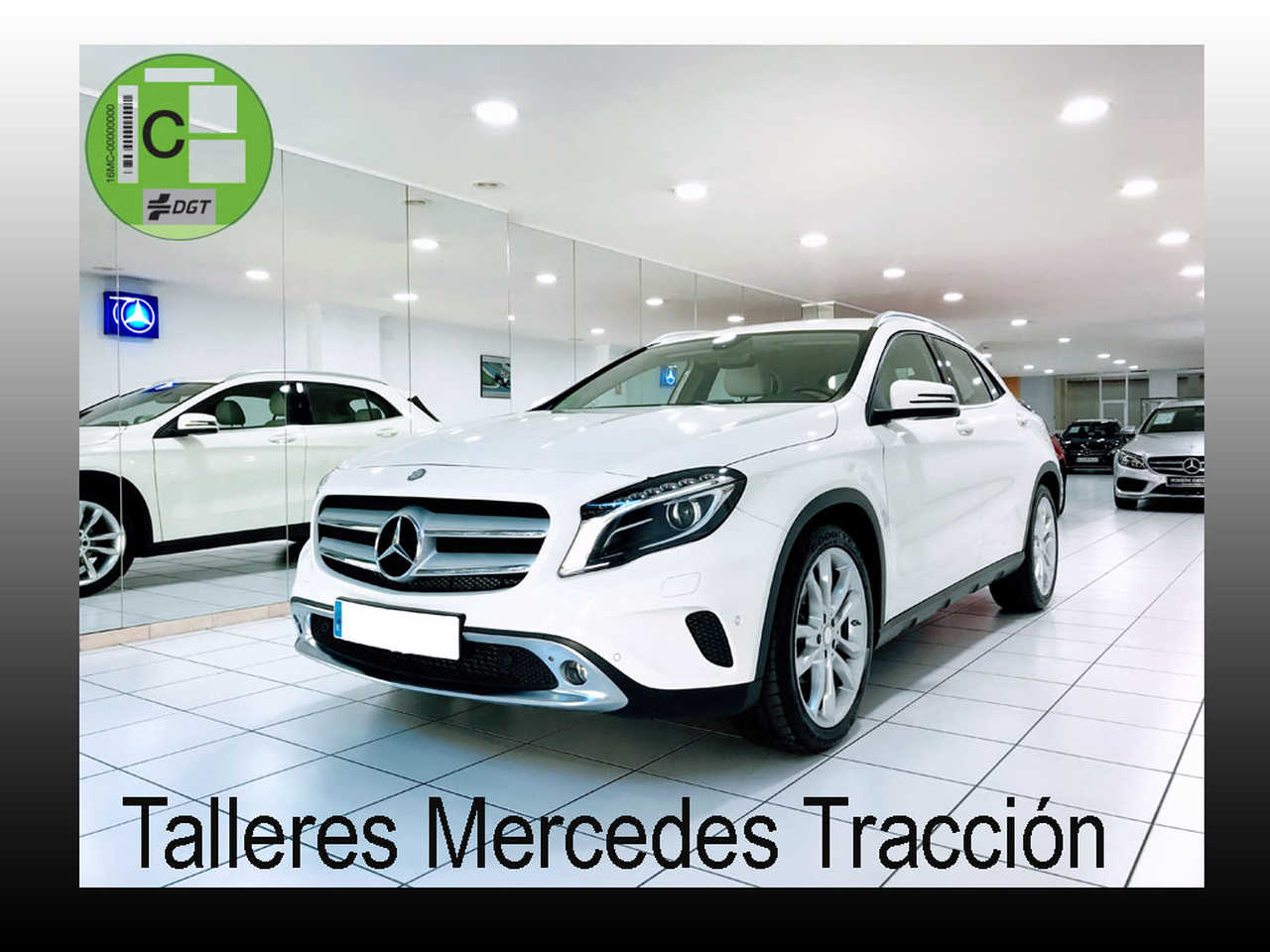 Mercedes GLA 220 CDI  4Matic/Urban/7G-DCT/Navi/Sensores/Cuero   - Foto 1