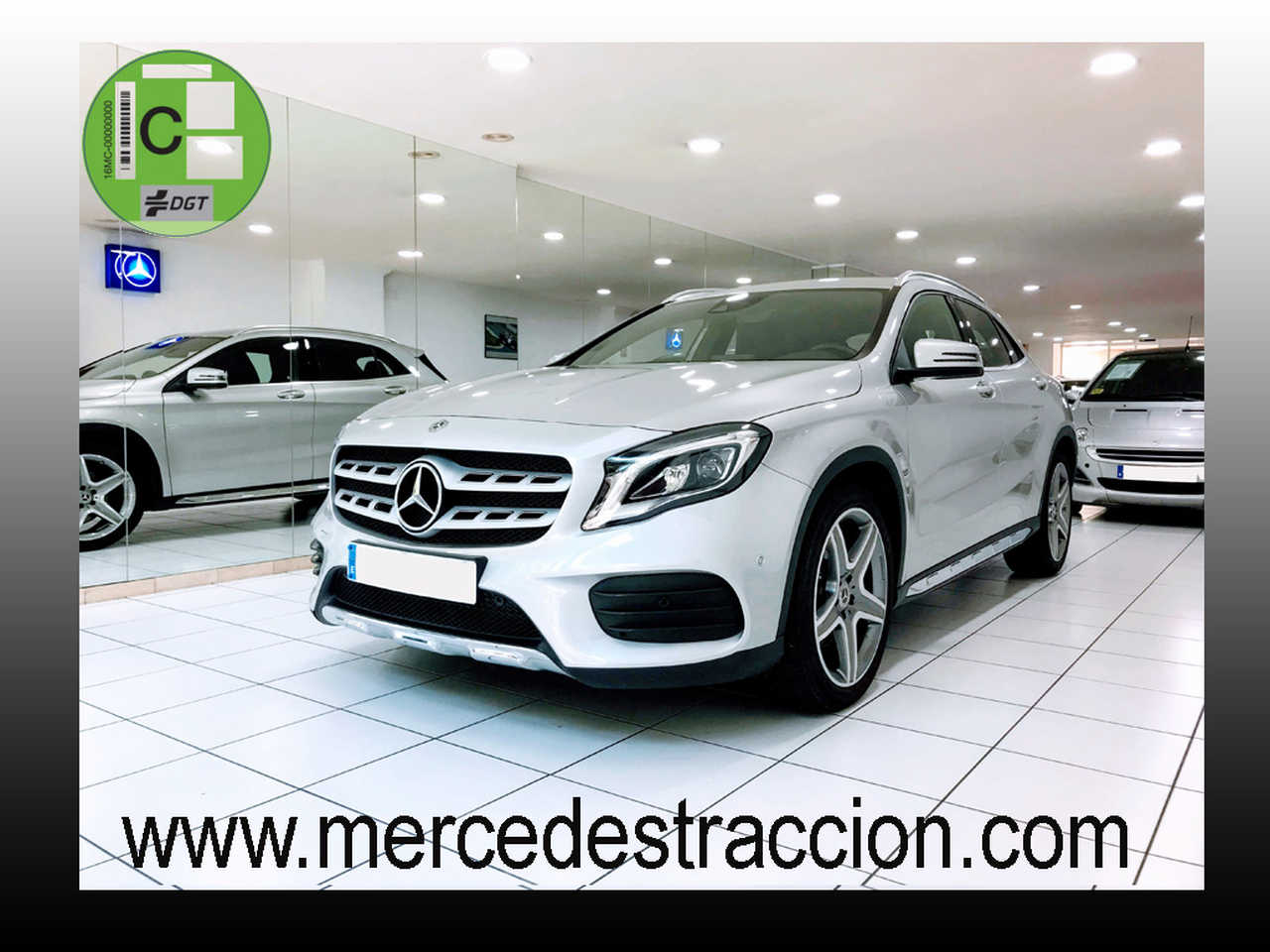 "Mercedes GLA 220 d AMG Line 7G/Navegación/Parktronic/Llanta 19""   - Foto 1"