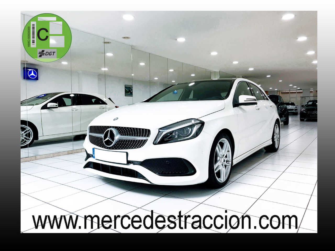 Mercedes Clase A 180 d 7G-DCT/AMG Line/Techo Panorámico/Navi   - Foto 1