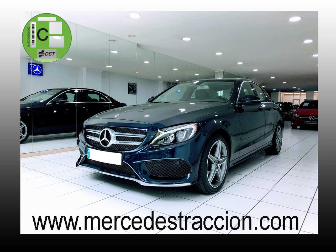 Mercedes Clase C 220 d AMG Line 9G/Navegación/Parktronic/6.425 km   - Foto 1
