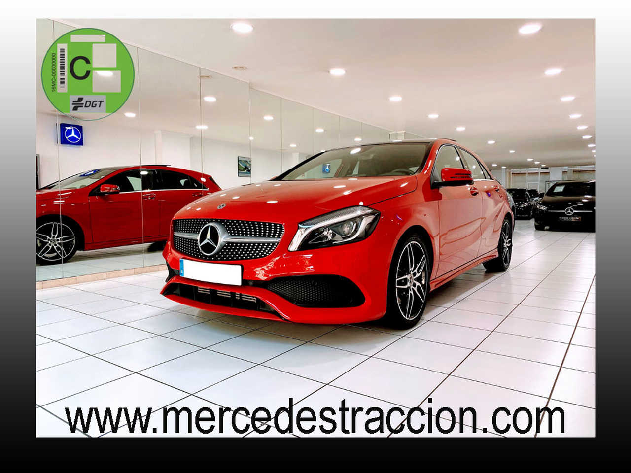 "Mercedes Clase A 180 7G-DCT/AMG Style/Car Play/Techo Panorámico/Llanta 18""   - Foto 1"