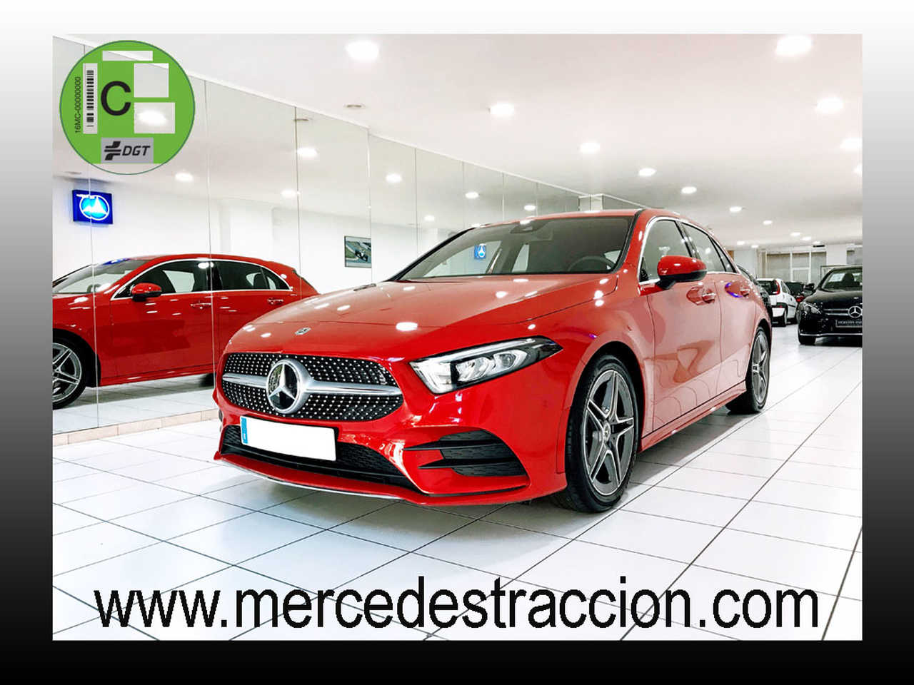 "Mercedes Clase A 180 7G-DCT/AMG Line/Car Play/Cámara Trasera/Llanta 18""   - Foto 1"