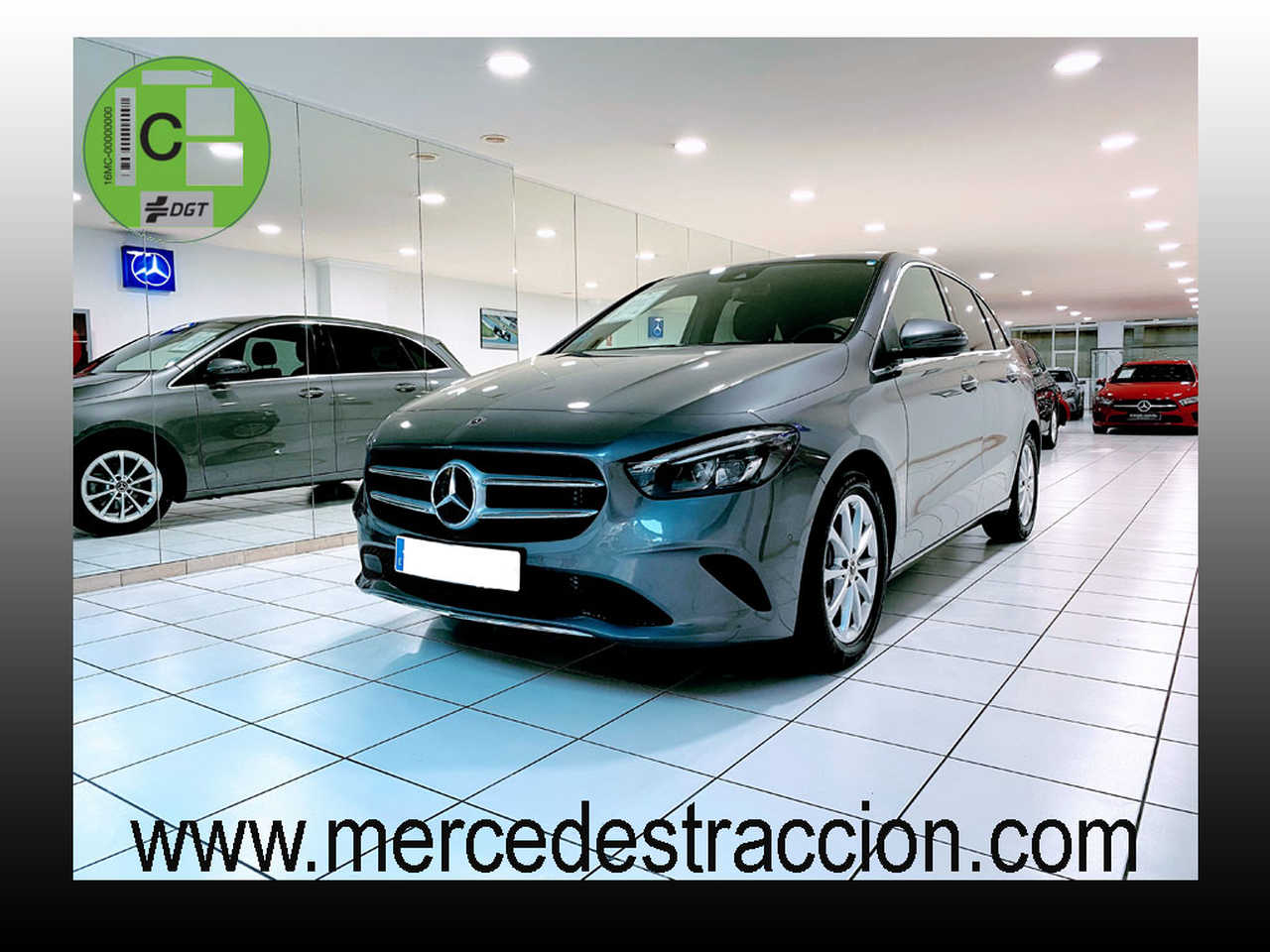Mercedes Clase B 180 7G-DCT/Paquete Premium/Car Play/Cuero/6.450 Km   - Foto 1