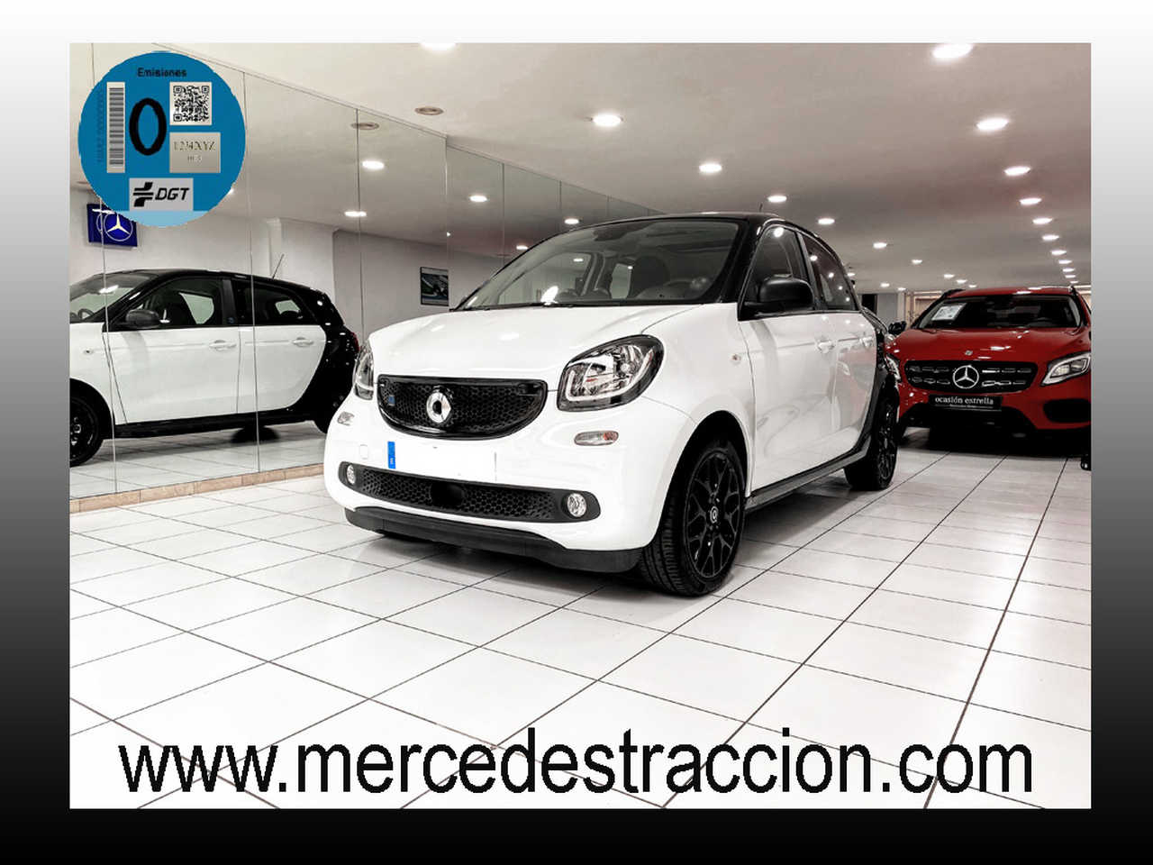 Smart Forfour 81CV EQ /Passion/Paquete Deportivo/ 1.900 km   - Foto 1