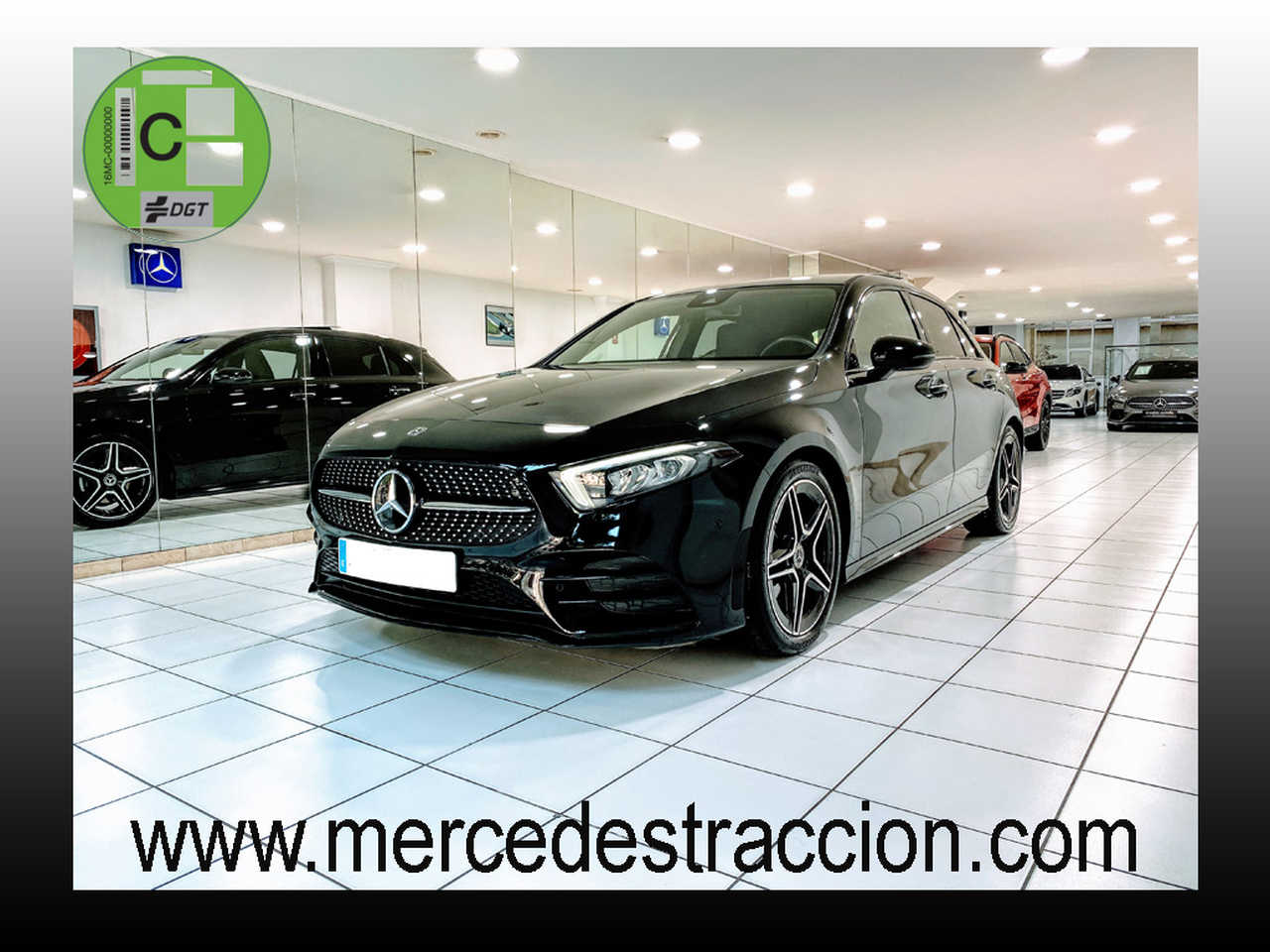 Mercedes Clase A 180 7G-DCT/AMG Line/Paquete Premium/Paquete Night/Techo Panorámico   - Foto 1