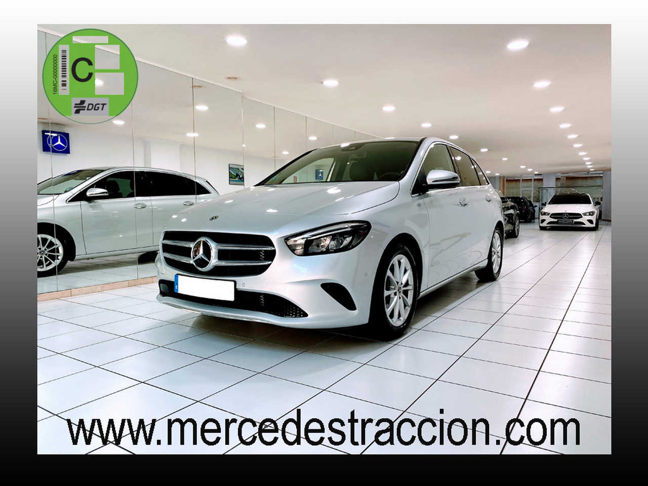 Mercedes Clase B 180 7G-DCT/Paquete Premium/Cuero/2.575Km   - Foto 1