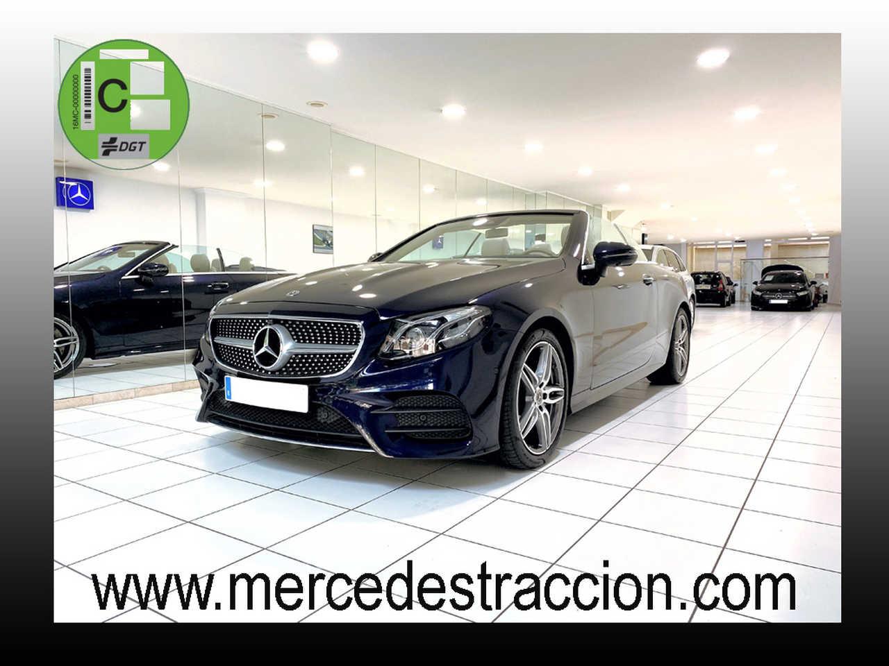 "Mercedes Clase E 220 d Cabrio/Paquete Premium Plus/Llanta 19""   - Foto 1"