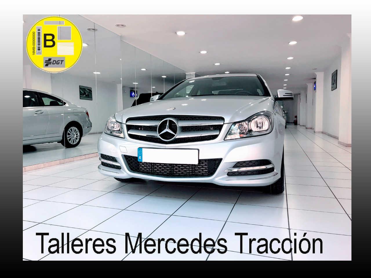 Mercedes Clase C 220 CDI BE Coupe/Navi/Cuero/28.000 km/Nacional   - Foto 1