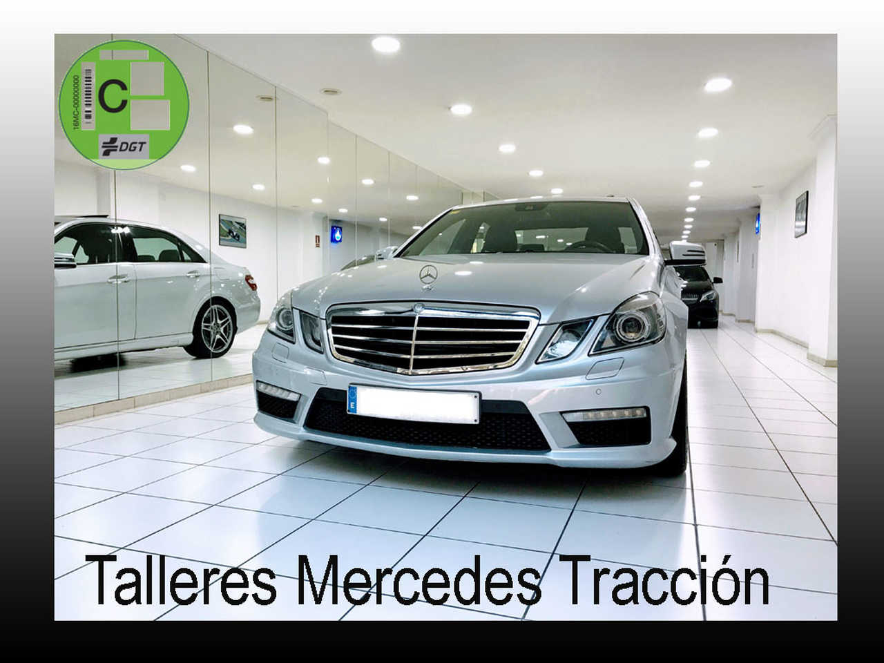 Mercedes Clase E 63 AMG/Drivers Packge AMG Vel Max 300 km/h/Full Equip   - Foto 1