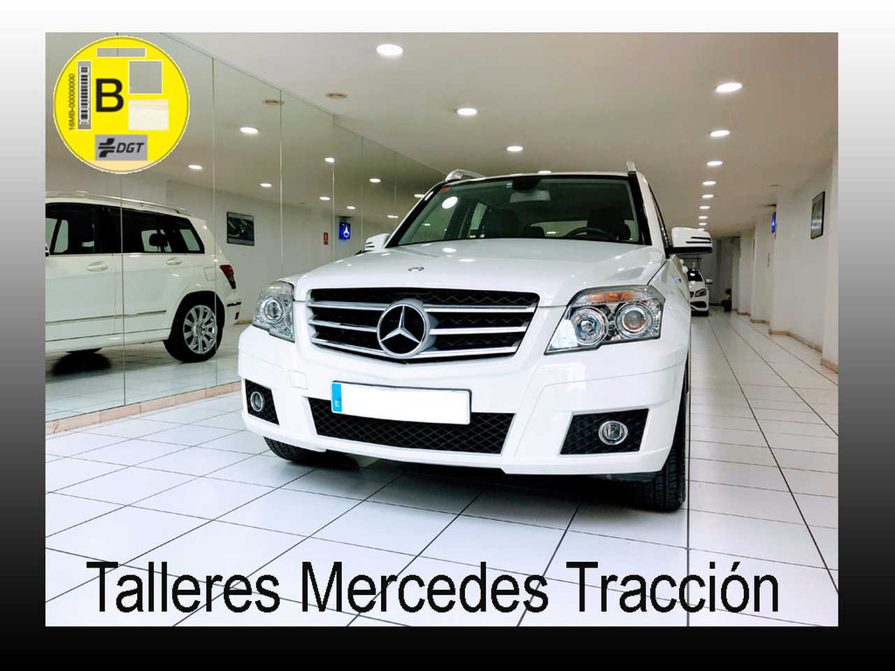 Mercedes Clase GLK 220 CDI BE 4 Matic/Paquete deportivo interior/exterior   - Foto 1