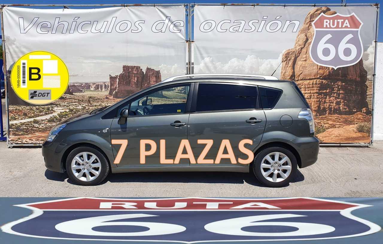 Toyota Corolla Verso 2.2 d-4d 136cv 7 plazas   - Foto 1