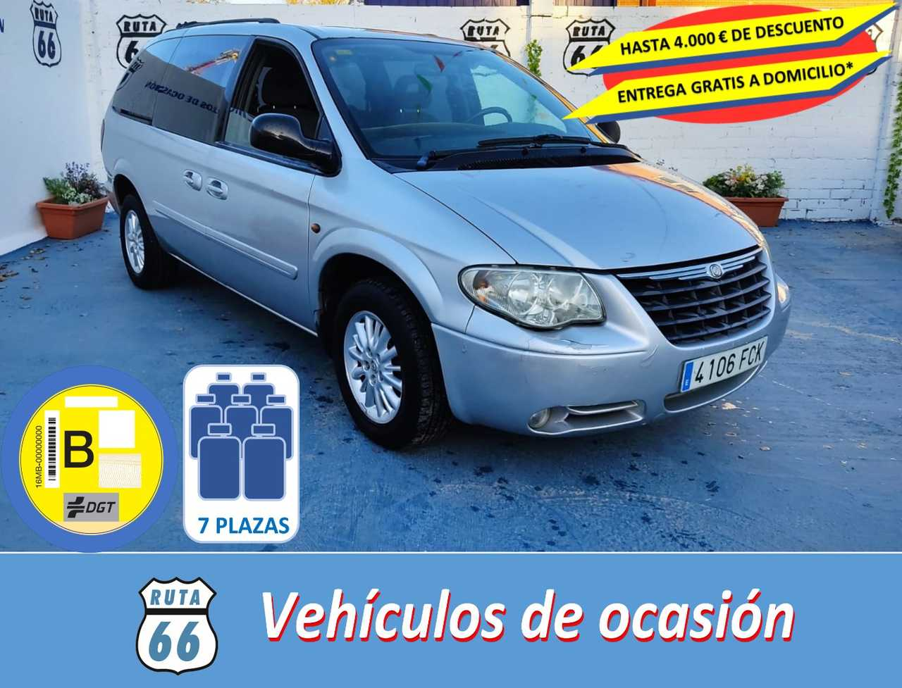 Chrysler Grand voyager Limited 2.8 CRDI   - Foto 1