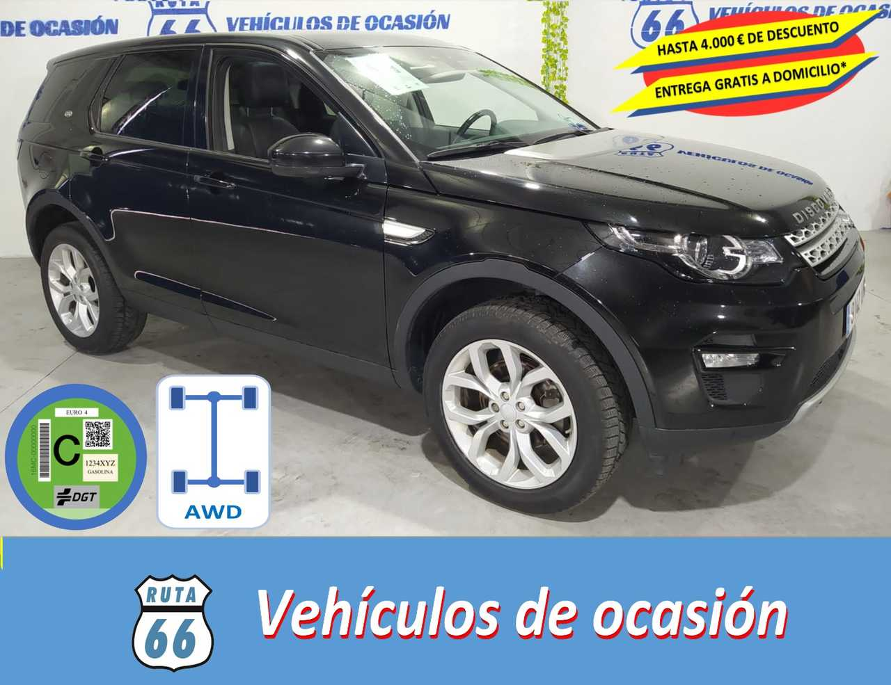 Land-Rover Discovery Sport 2.0L TD4 150CV 4x4 HSE   - Foto 1