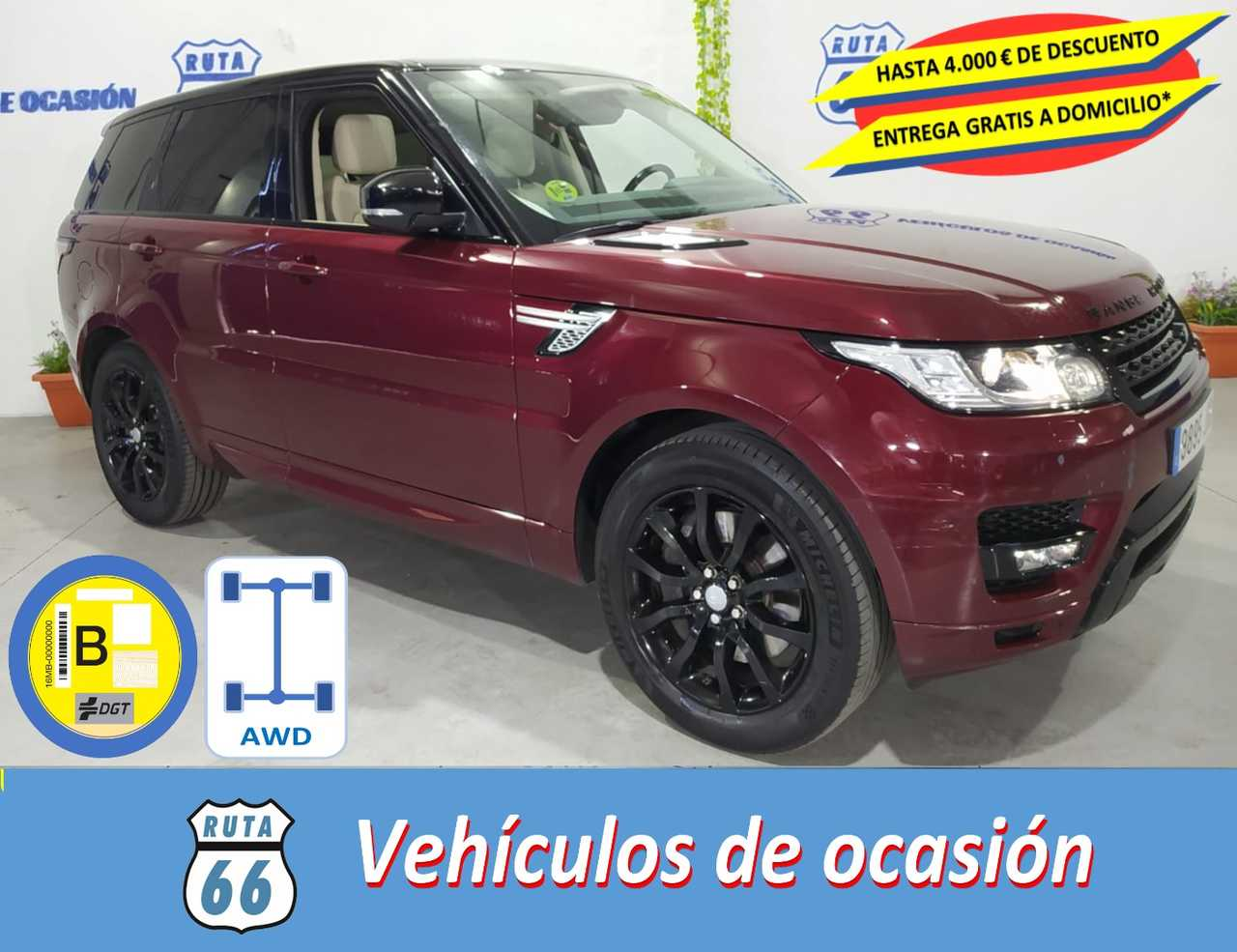 Land-Rover Range Rover Sport 3.0 SDV6 306cv HSE   - Foto 1