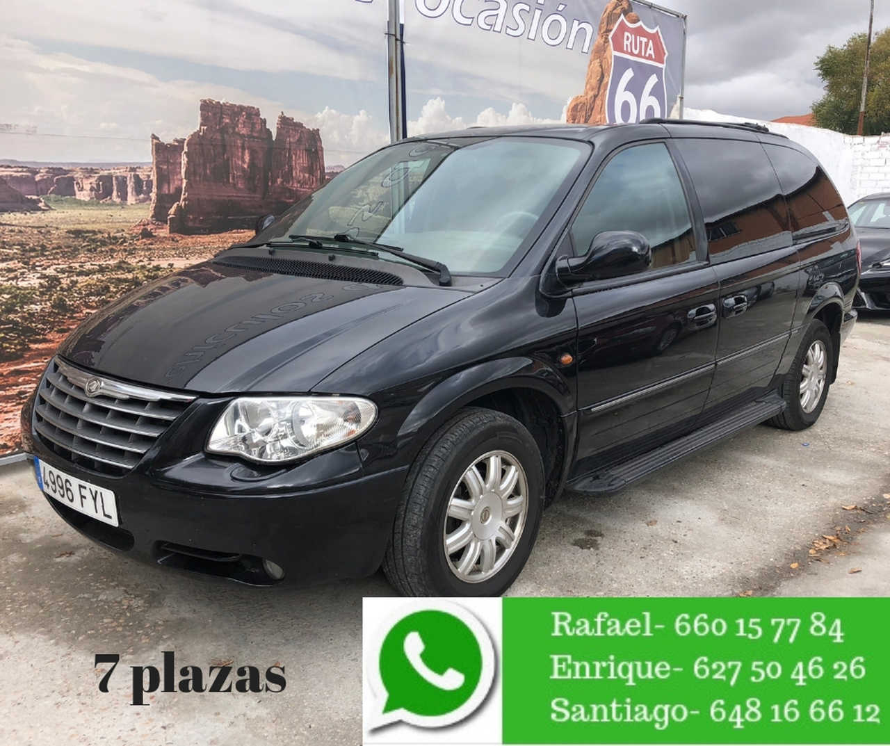 Chrysler Grand voyager Limited 2.8 CRD Auto 5p.   - Foto 1