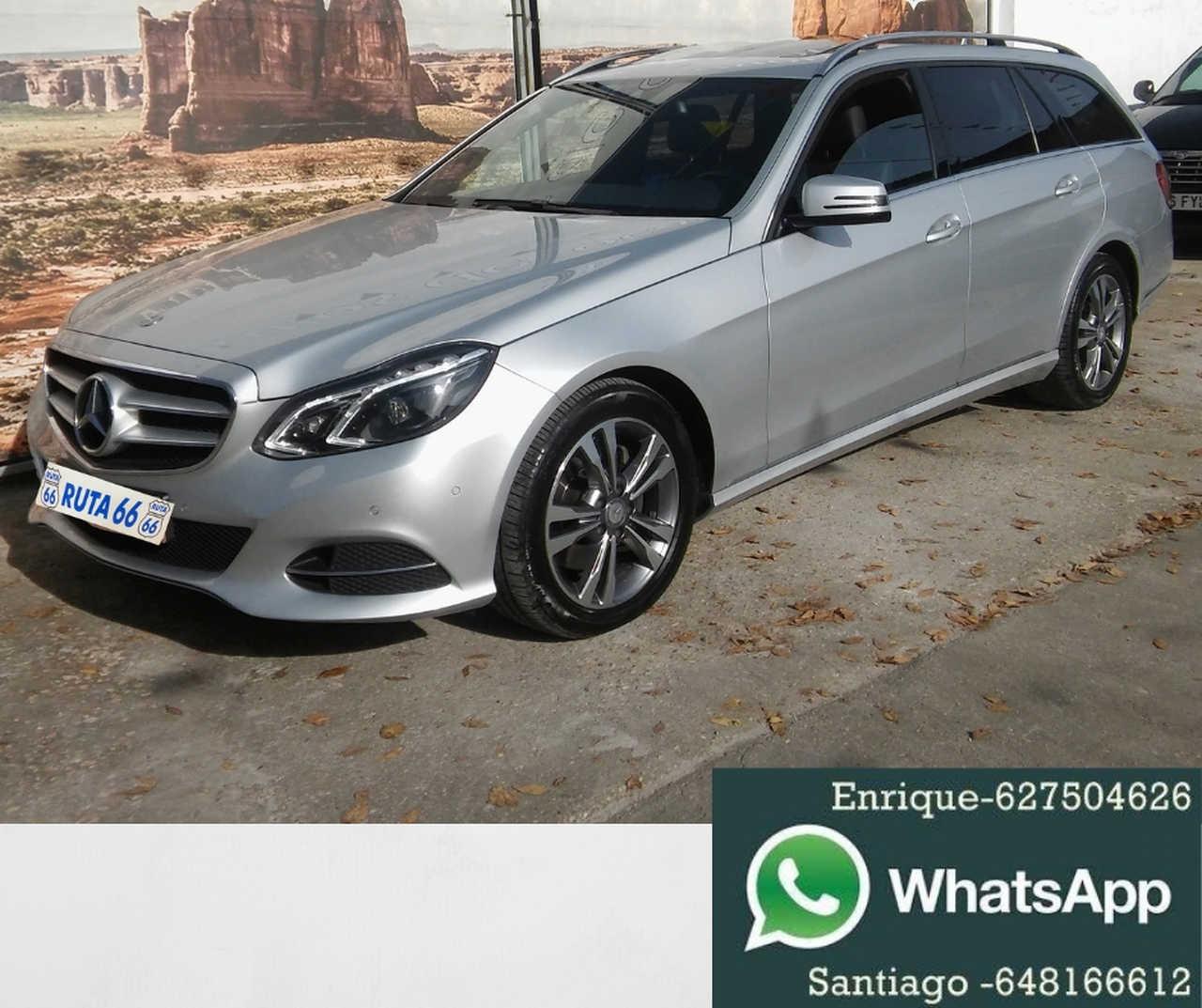 Mercedes Clase E 300 Bluete Hybrid   - Foto 1