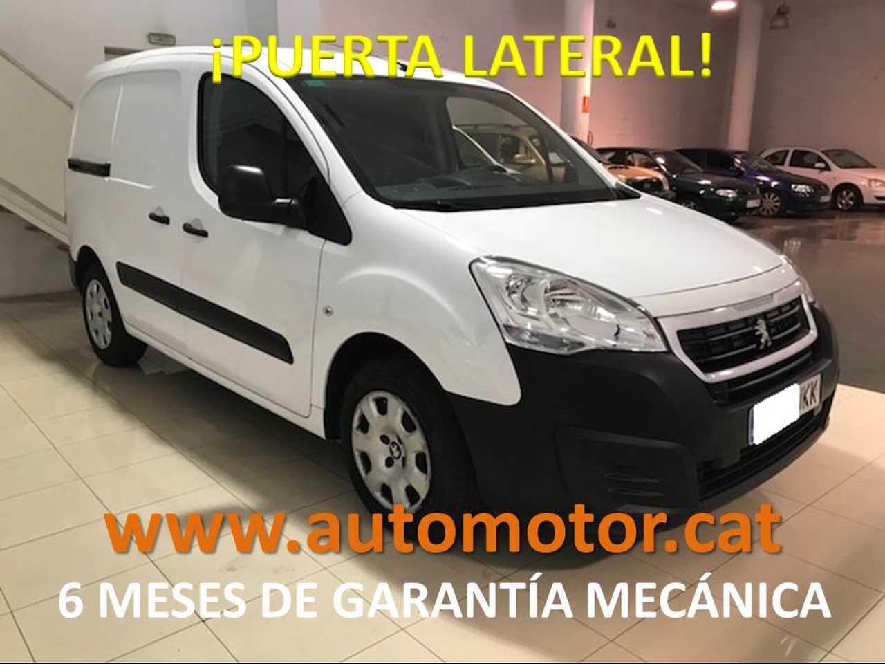 Peugeot Partner Furgón 1.6HDI Confort L1 - 6 MESES GARANTIA MECANICA  - Foto 1