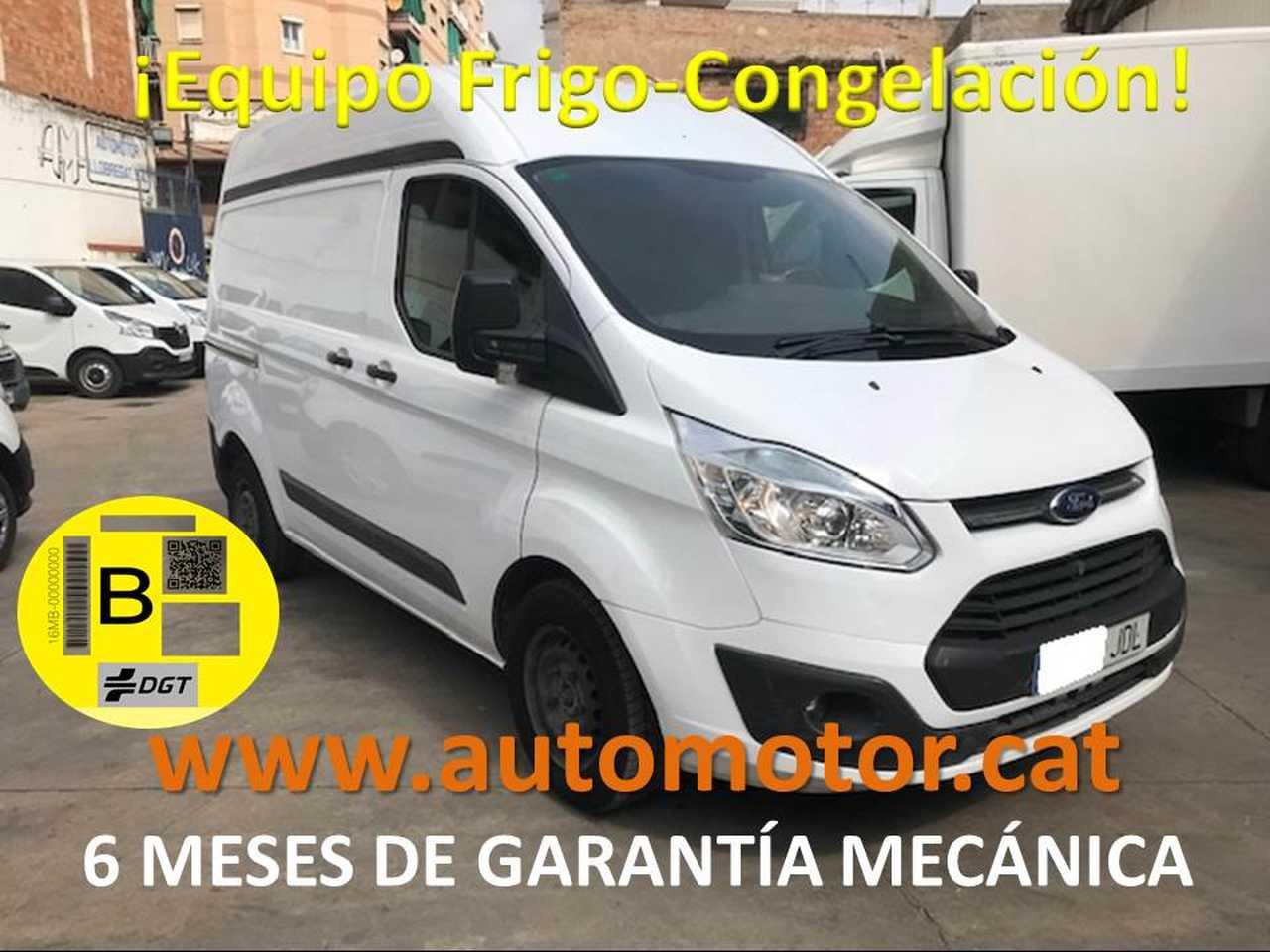 Ford Transit Custom FT 270 L1 Van Trend 125 CONGELACION - GARANTIA MECANICA  - Foto 1