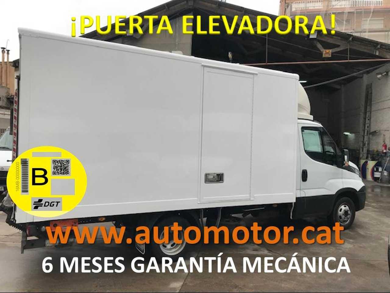 Iveco Daily Furgón 35C13 PUERTA ELEVADORA - GARANTIA MECANICA  - Foto 1