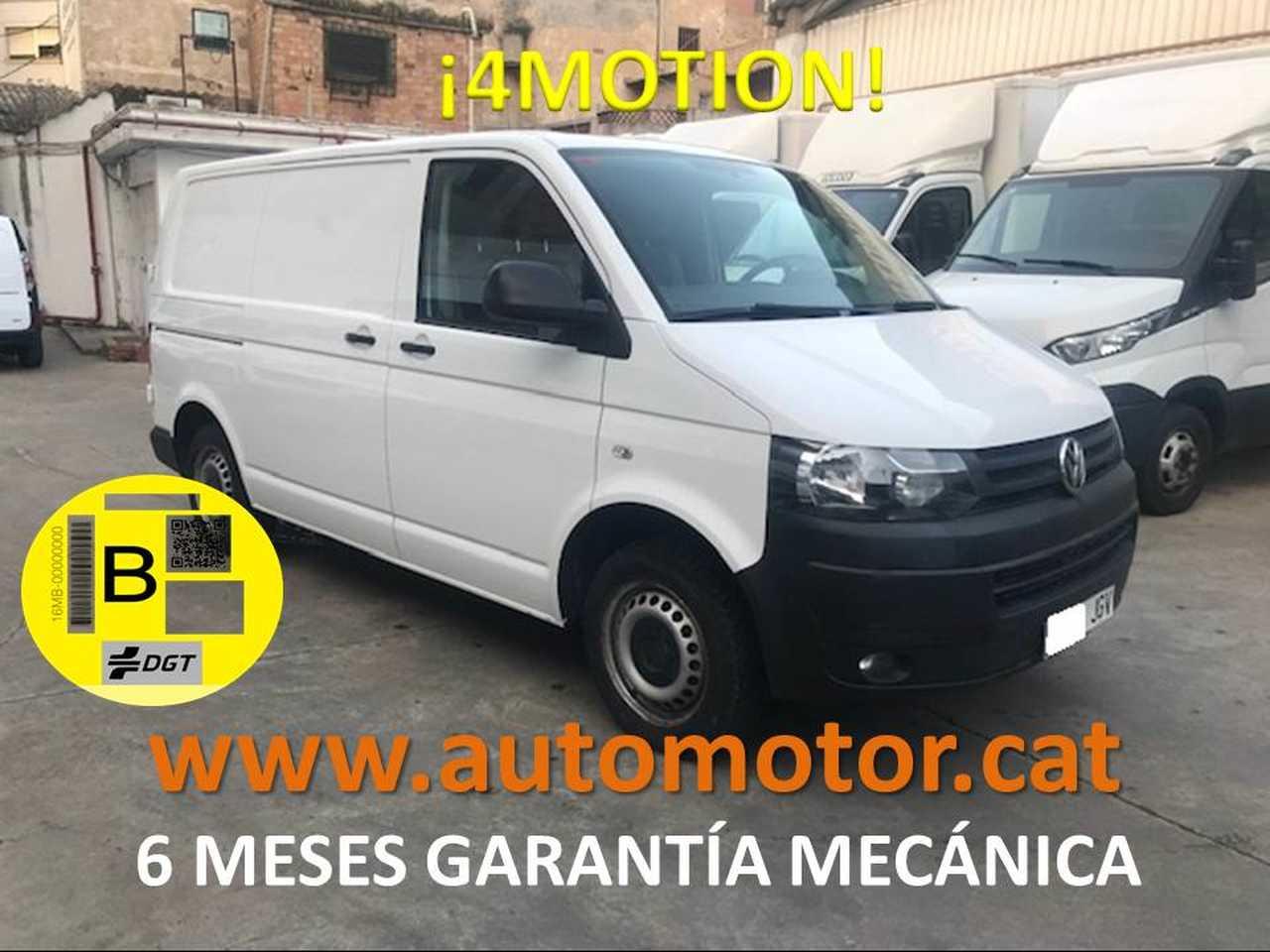 Volkswagen Transporter 2.0TDIBMT 4M Corto 140cv - GARANTIA MECANICA  - Foto 1