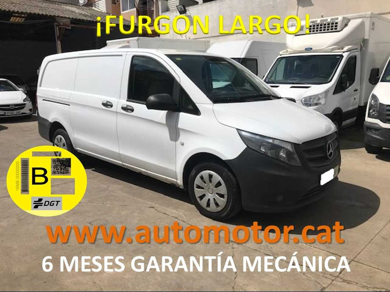 Mercedes Vito Furgón 111CDI Larga - GARANTIA MECANICA  - Foto 1