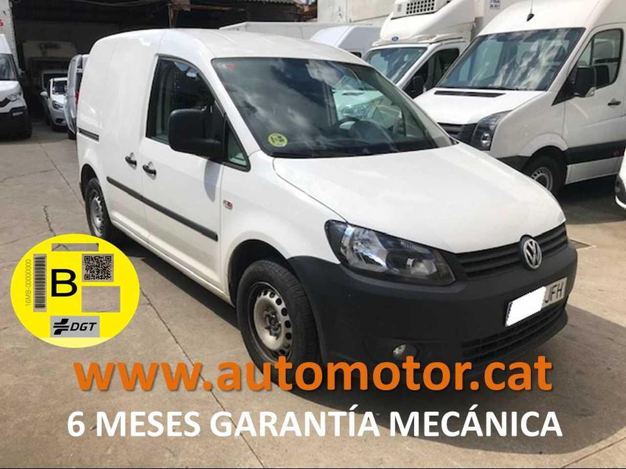 Volkswagen Caddy Furgón 1.6TDI - GARANTIA MECANICA  - Foto 1