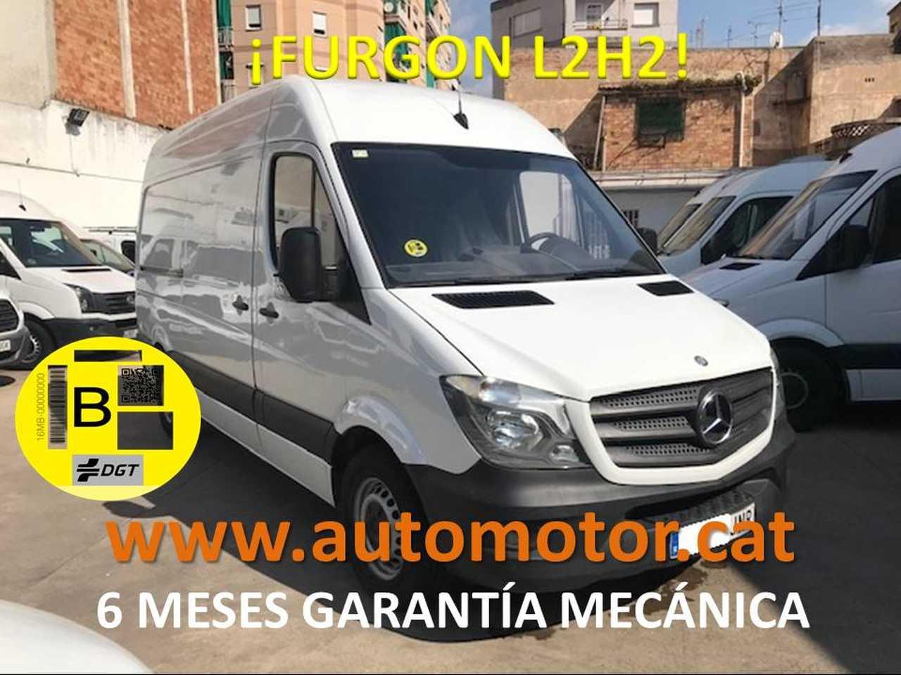 Mercedes Sprinter Furgón 310CDI Medio T.E. - GARANTIA MECANICA  - Foto 1