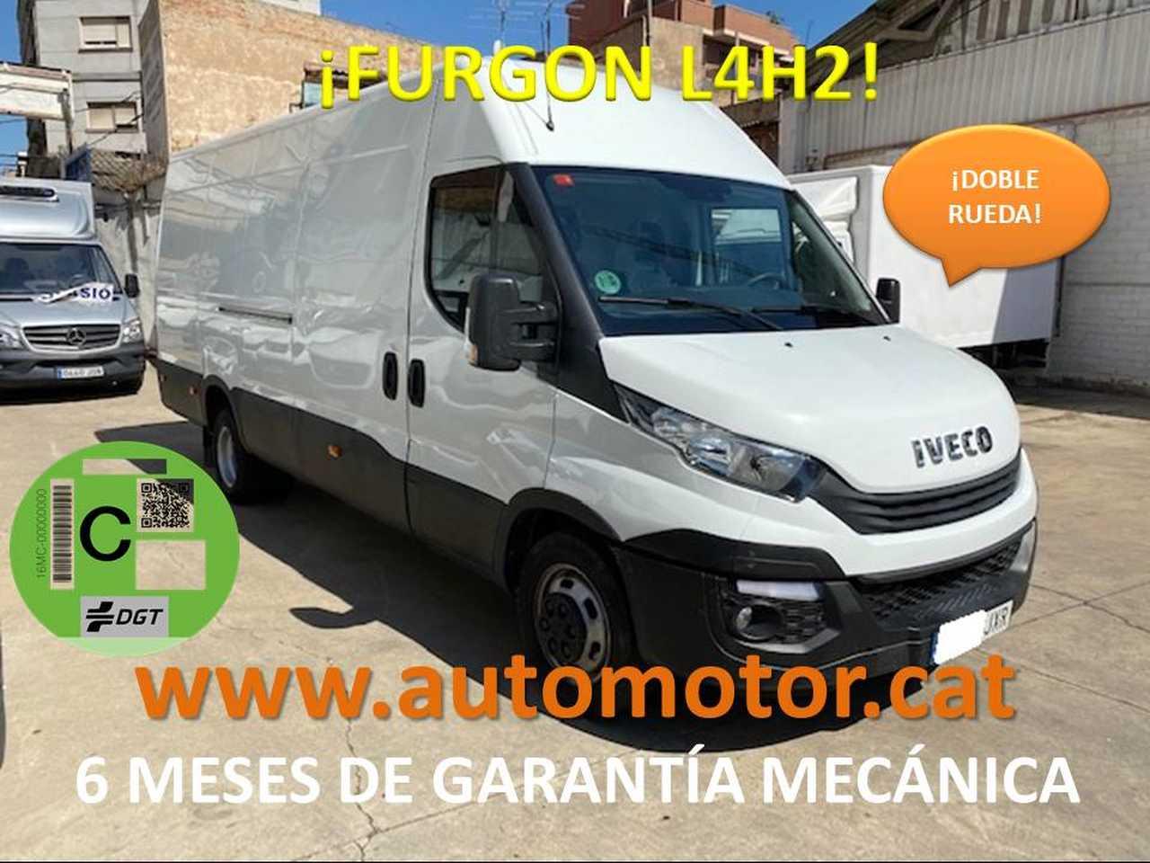 Iveco Daily Furgón 35C12 L4 H2 - GARANTIA MECANICA  - Foto 1