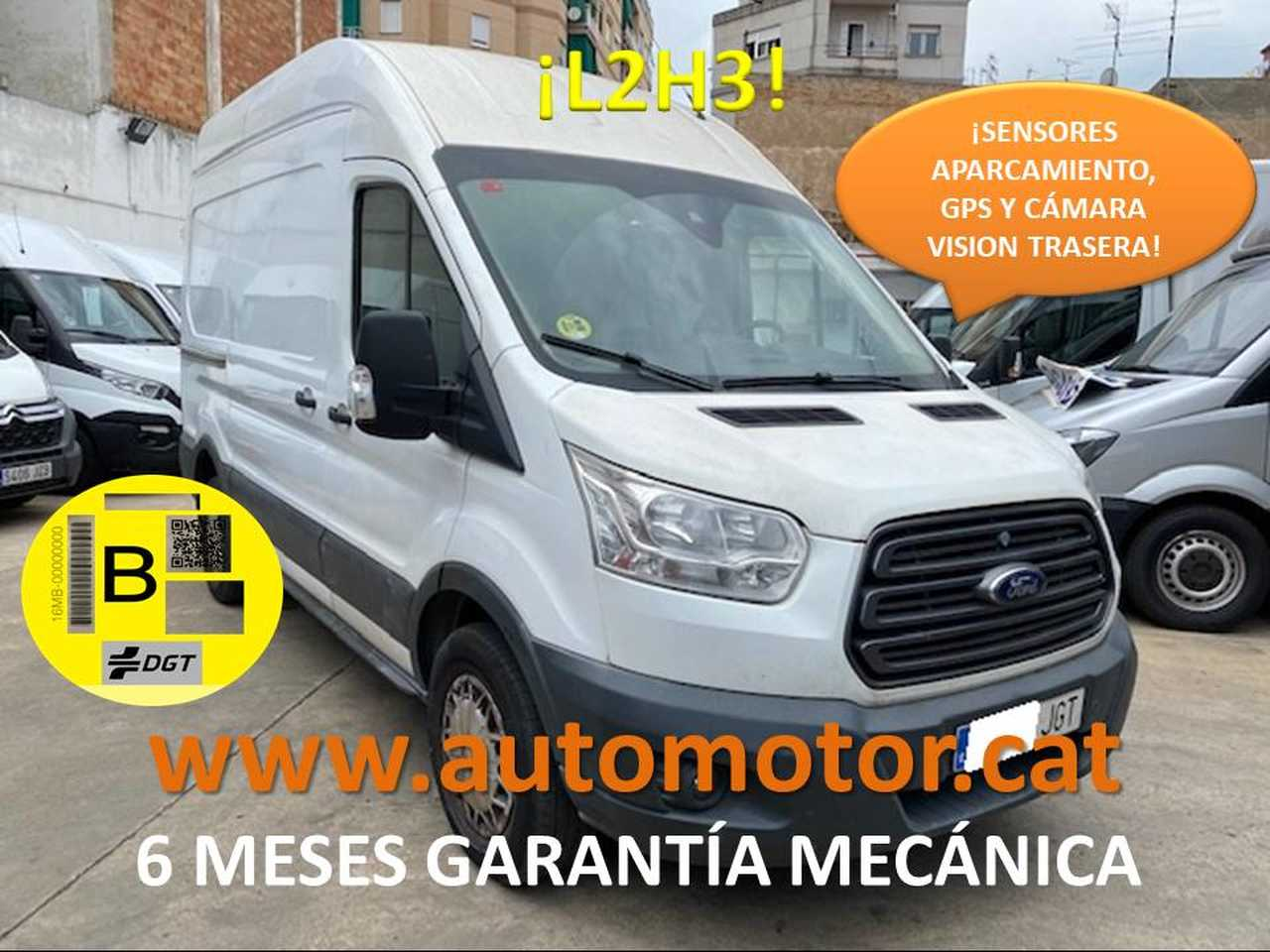 Ford Transit FT 350 L2 Van Trend 125 - GARANTIA MECANICA  - Foto 1