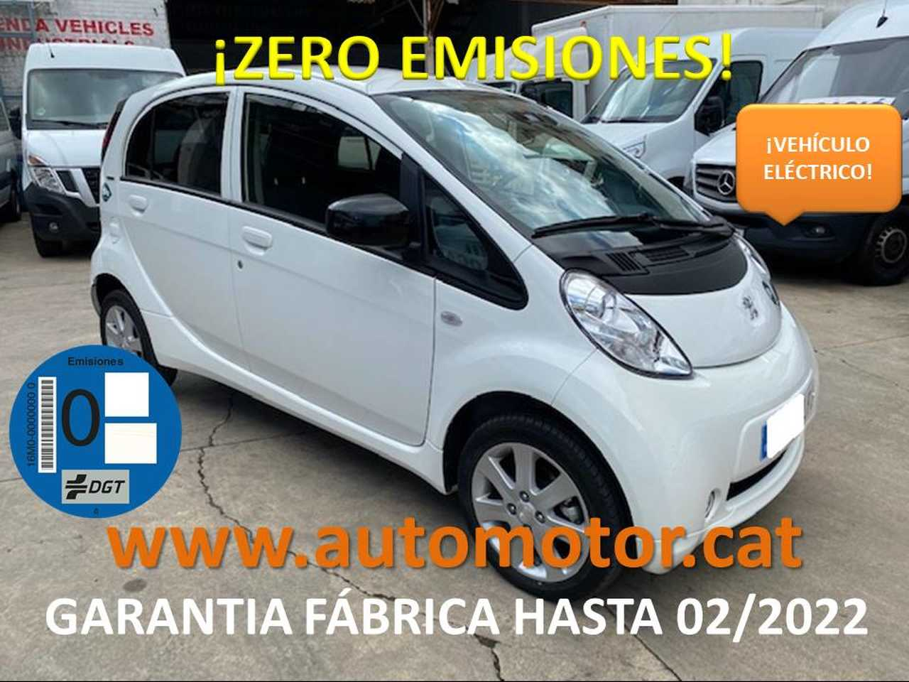 Peugeot iOn Eléctrico GARANTIA FABRICA 02/2022  - Foto 1