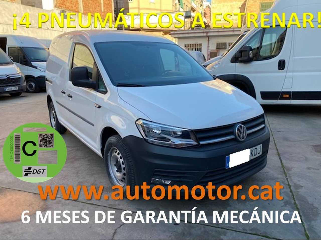 Volkswagen Caddy Furgón 2.0TDI 55kW - GARANTIA MECANICA  - Foto 1