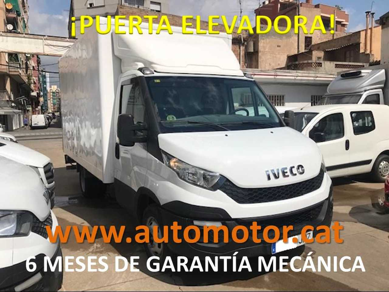 Iveco Daily Furgón 35C15 PUERTA ELEVADORA - GARANTIA MECANICA  - Foto 1
