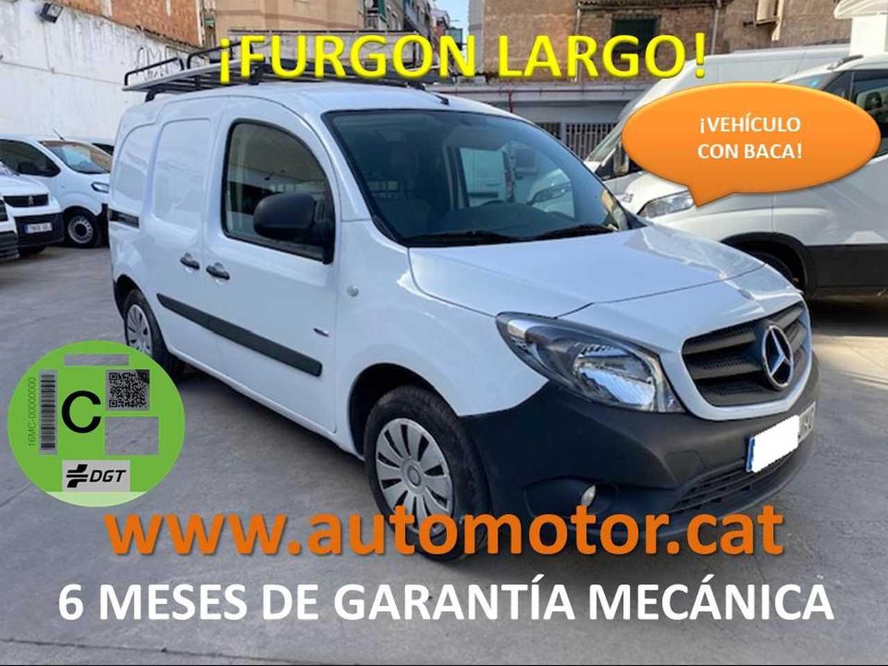 Mercedes Citan Furgón 109CDI Largo - GARANTIA MECANICA  - Foto 1