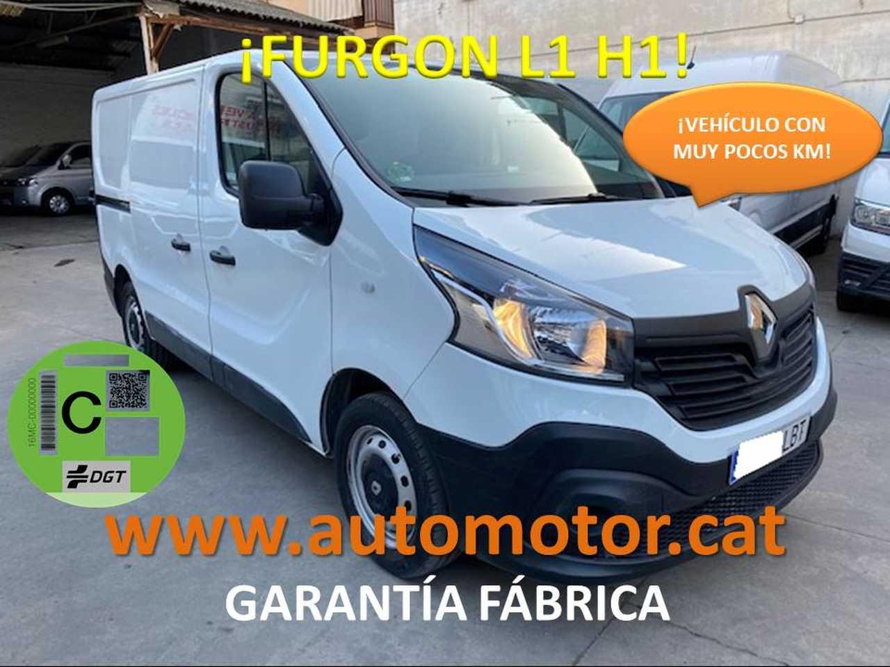 Renault Trafic Furgón 29 L1H1 dCi - GARANTIA MECANICA  - Foto 1
