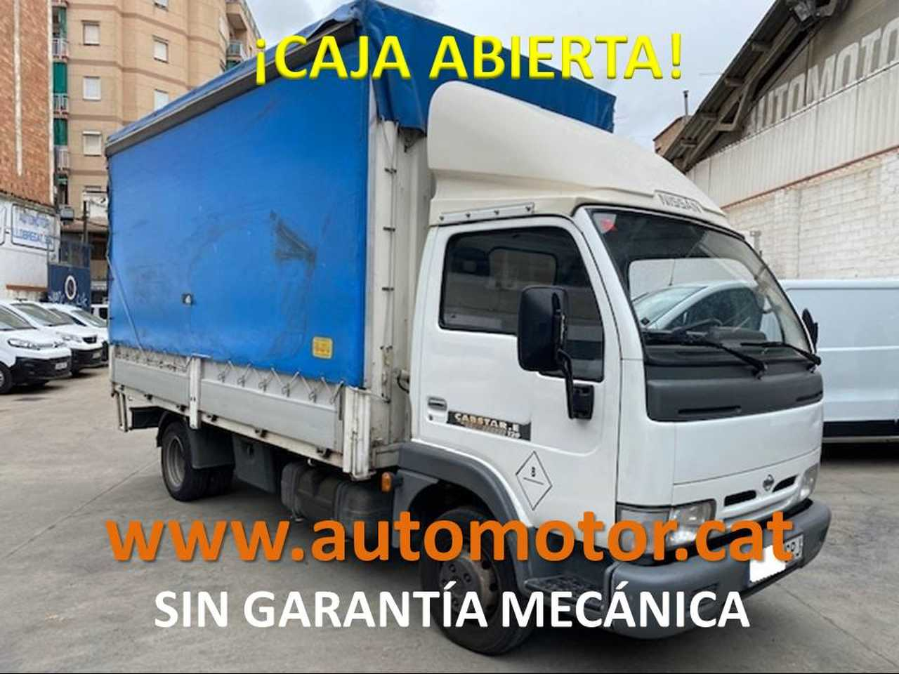 Nissan Cabstar Cabstar-E 120.35/2 Cabina Abatible SIN GARANTIA MECANICA  - Foto 1