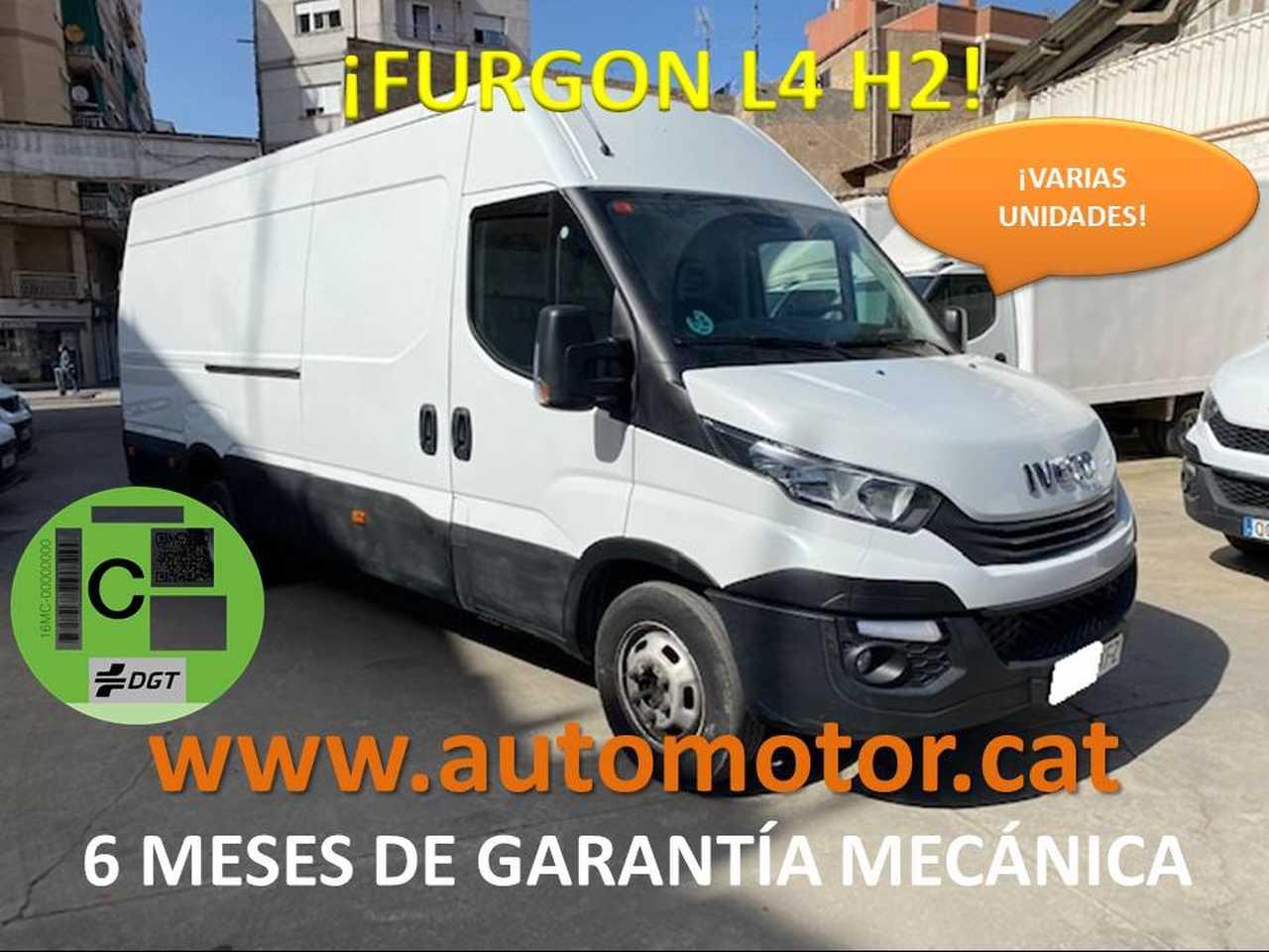 Iveco Daily Furgón 35C12 L4H2  - GARANTIA MECANICA  - Foto 1