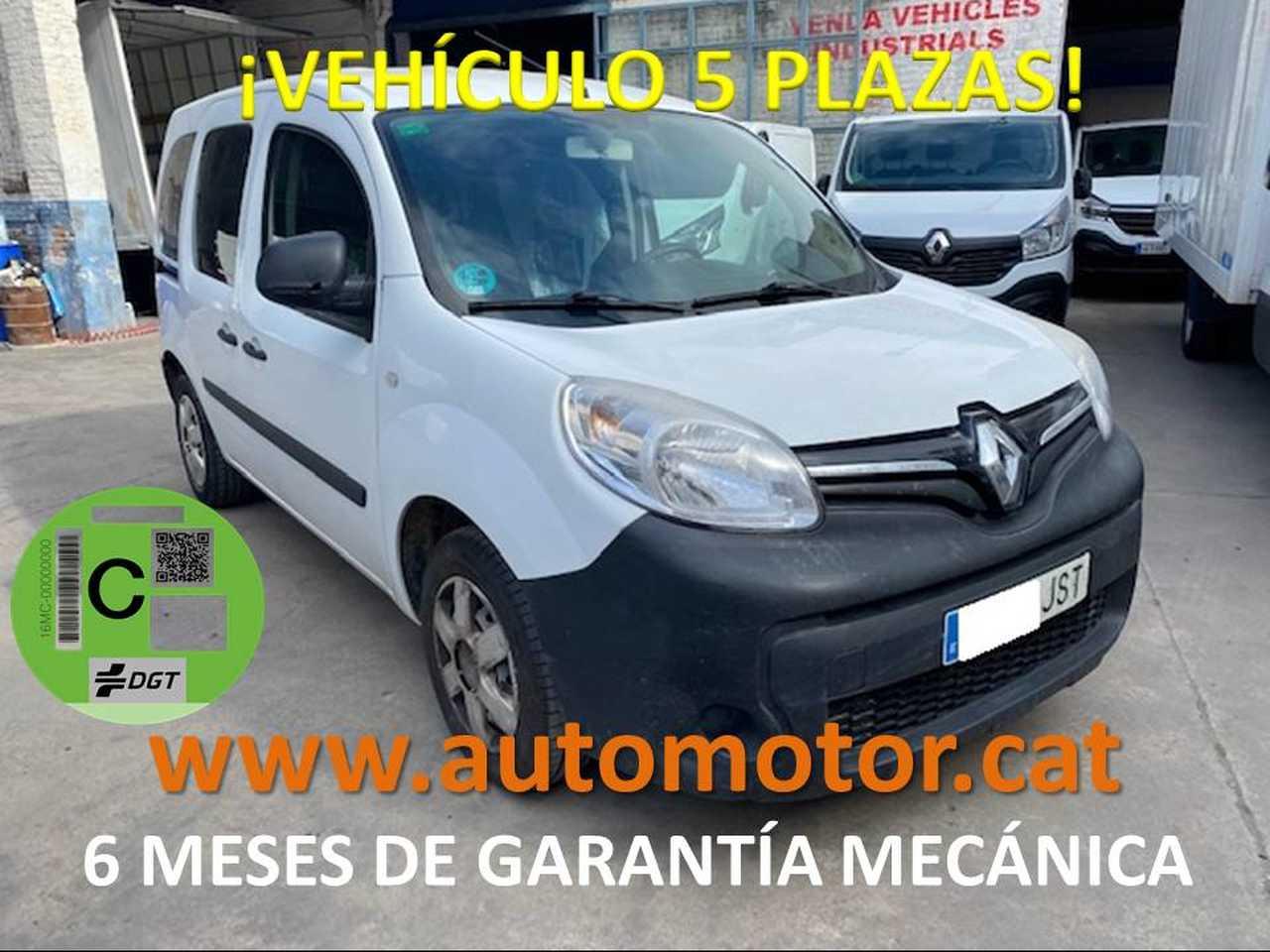 Renault Kangoo combi 1.5dCi En. Profesional M1 66kW - GARANTIA MECANICA  - Foto 1