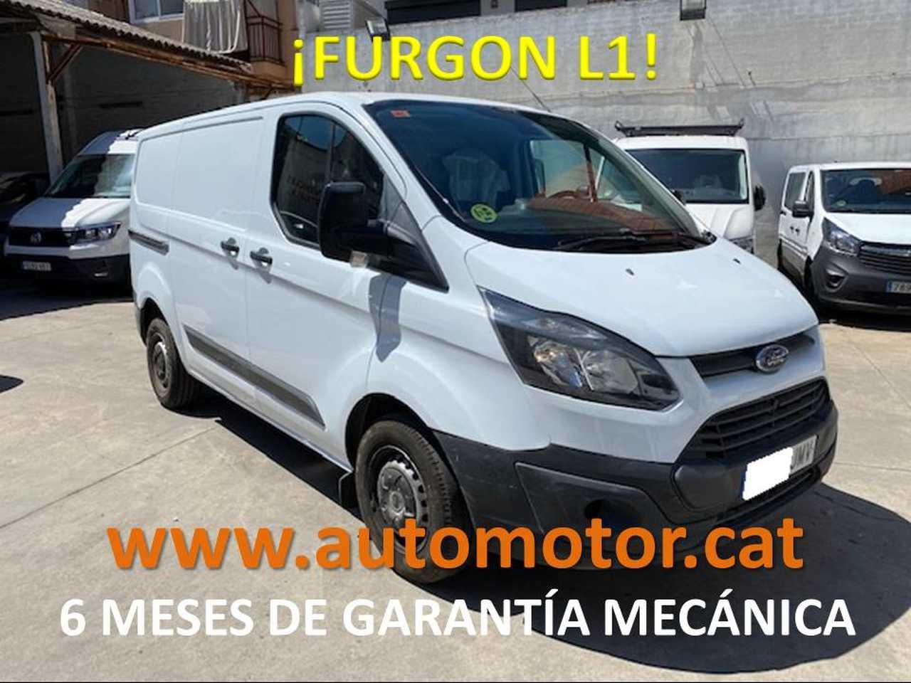 Ford Transit Custom FT 250 L1 Van Ambiente 105 - GARANTIA MECANICA  - Foto 1