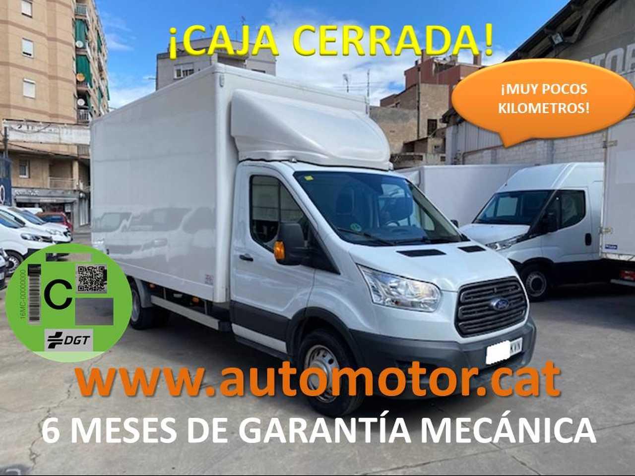 Ford Transit FT 350 L3 Chasis Trend 170 - GARANTIA MECANICA  - Foto 1