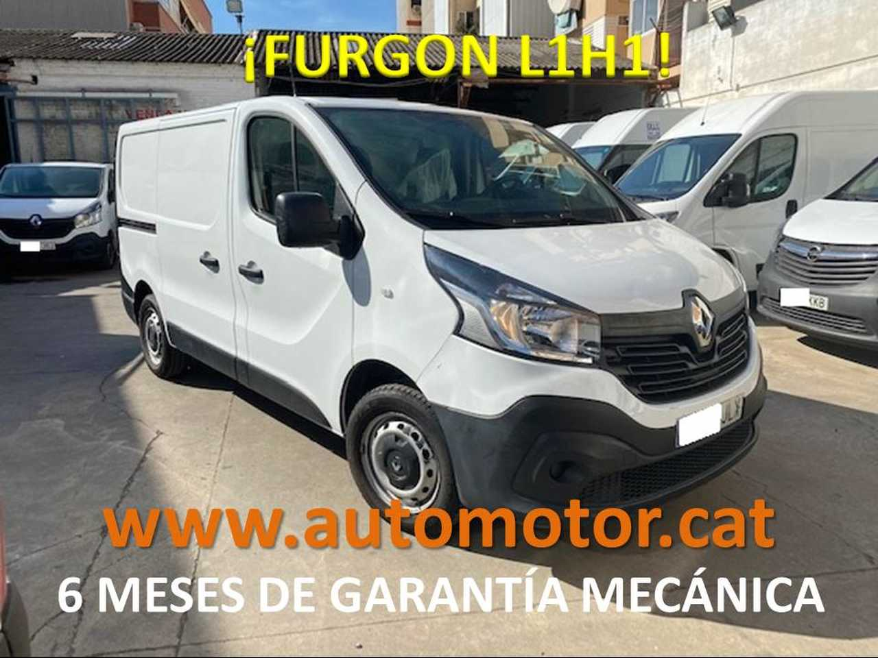 Renault Trafic Furgón 27 L1H1 dCi - GARANTIA MECANICA  - Foto 1