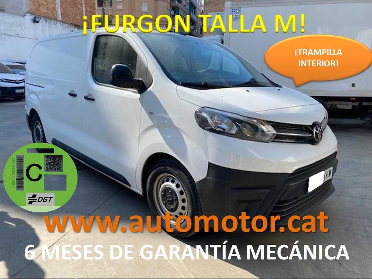 Toyota Proace Van Media 1.6D Confort 115 - GARANTIA FABRICA  - Foto 1