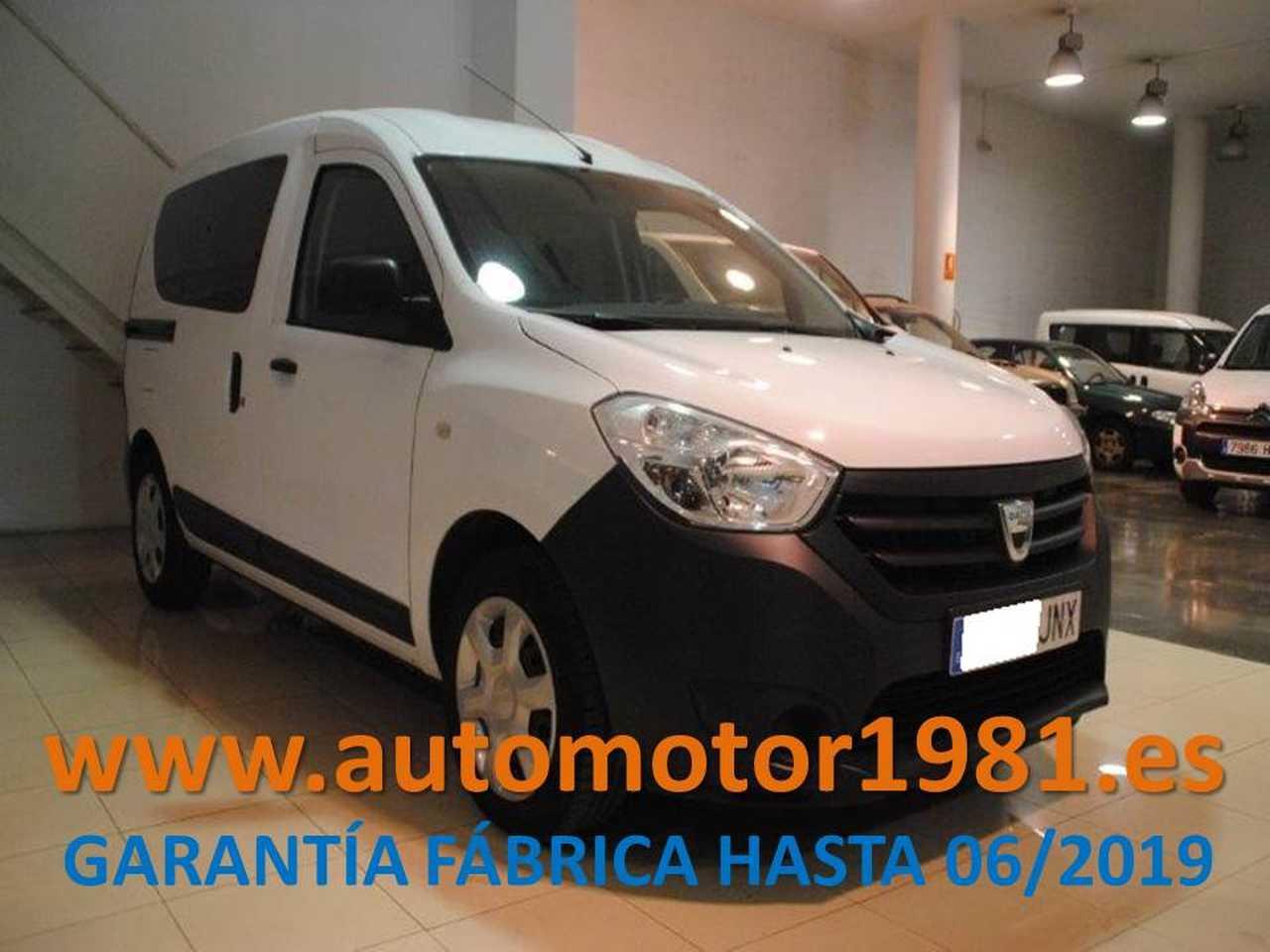 Dacia Dokker 1.5dCi Ambiance N1 90 - GARANTIA FABRICA 06/2019  - Foto 1