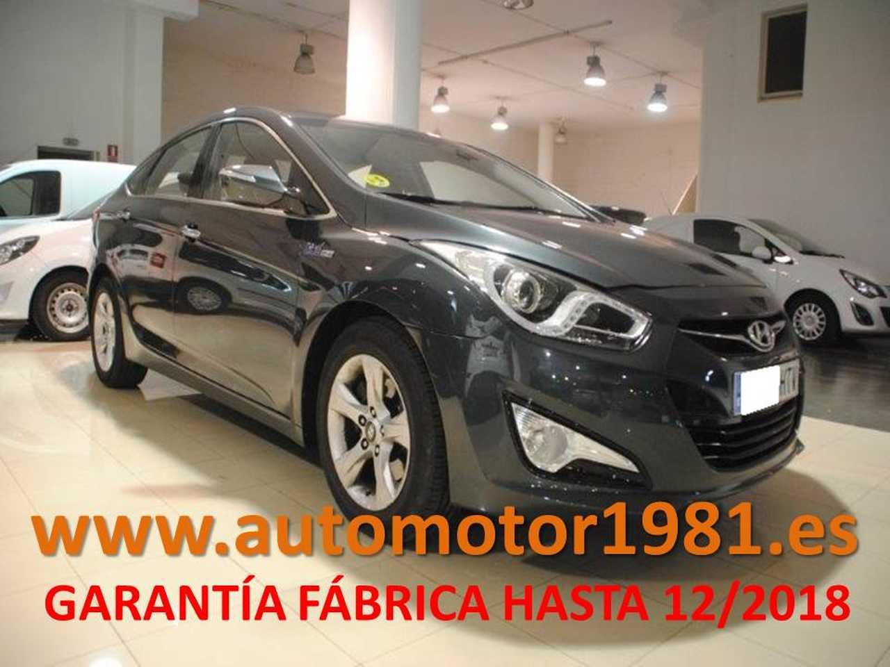 Hyundai i40 1.7CRDI GLS Bluedrive Tecno 136 - GARANTIA FABRICA 12/2018  - Foto 1